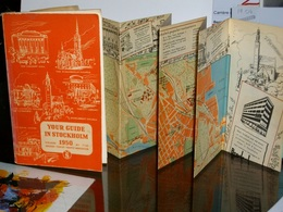 YOUR GUIDE IN STOCKHOLM 1950 + Plan En Couleurs - Exploration/Voyages
