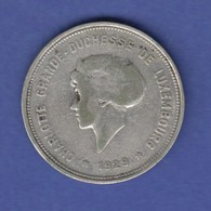 Luxemburg Kursmünze 5Fr. 1928 Hezogin Charlotte - Lussemburgo