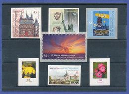 Bundesrepublik Alle Selbstklebenden Briefmarken Des Jahrgangs 2009 Komplett ** - [7] Federal Republic