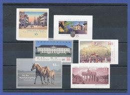 Bundesrepublik Alle Selbstklebenden Briefmarken Des Jahrgangs 2007 Komplett ** - [7] Federal Republic