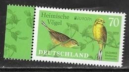 GERMANY, 2019, MNH, EUROPA, BIRDS,1v - 2019