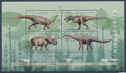 Deutschland 2008 Blockausgabe Prähistorische Tiere  Dinosaurier  ** - [7] Federal Republic