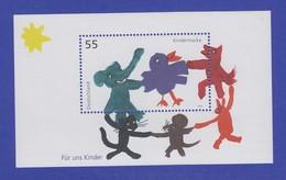 Bundesrepublik 2003 Blockausgabe Für Uns Kinder  Mi.-Nr .Block 64 ** - [7] Federal Republic