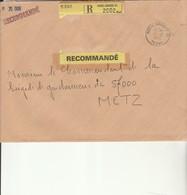 L 1 - Enveloppe  En Recommandée S.P.70068 - PARIS ARMEES 01 - Marcofilie (Brieven)