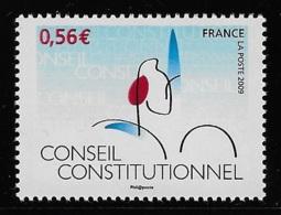 N° 4347 CINQUANTENAIRE DU CONSEIL CONSTITUTIONNEL NEUF ** TTB COTE 1,70 € - Frankreich