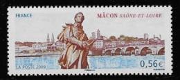 N° 4349 SERIE TOURISTIQUE MACON NEUF ** TTB COTE 1,80 € - Frankreich