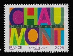 N° 4355 SERIE TOURISTIQUE CHAUMONT NEUF ** TTB COTE 1,70 € - Frankreich