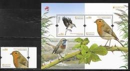 PORTUGAL,  2019, MNH, EUROPA, BIRDS, 1v+SHEETLET - 2019