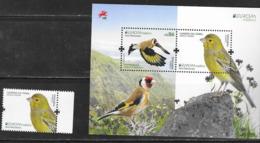 MADEIRA, PORTUGAL,  2019, MNH, EUROPA, BIRDS, MOUNTAINS,  1v+SHEETLET - 2019