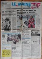 24 H Du Mans 1981.Rondeau & W.M. à L'affût De Porsche. - Desde 1950