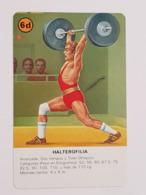 Carte à Jouer Halterofilia - Halterophilie - Weightlifting - Mappe