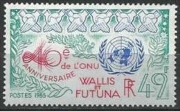 """Wallis YT 332 """" ONU """" 1985 Neuf** - Unused Stamps"""