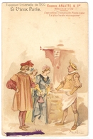 CPH 1142  OLD POSTCARD , HUMOR FANTASY , Signed A. ROBIDA - Humor