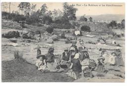 Cpa...Le Muy...(Var)...le Robinon Et Les Blanchisseusses...animée...1914.. - Autres Communes