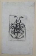 Ex-libris Héraldique XVIIIème - GEORGES BURCKHARD - Ex Libris