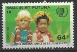 """Wallis YT 331 """" Jeunesse """" 1985 Neuf** - Unused Stamps"""