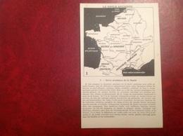 La Gaule Ancienne , Carte - Histoire