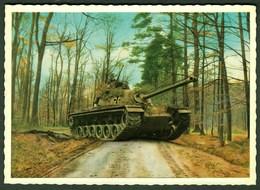US Tank Panzer M48 In Germany Army Munster Lüneburger Heide 1959 - Matériel