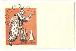 CPH 1155  OLD POSTCARD , HUMOR FANTASY , COCORICO - Humor