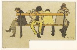 CPH 1158  OLD POSTCARD , HUMOR FANTASY , Signed AMADEE LYNEN - Humor