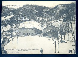 Cpa Du 38 Malleval Route De Cognin à Malleval   Moulin Veyret   DEC19-27 - Frankreich