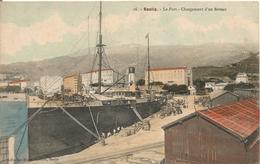 2B BASTIA Le Port Chargement D Un Bateau - Bastia