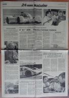 24 H Du Mans 1992.8 Pages Sur Les 24 H 1992 Provenant De 2 Journaux Différents. - Desde 1950
