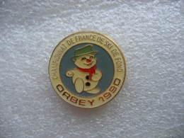 Pin's Du Championat De FRANCE De Ski De Fond à ORBEY En 1990 (Dépt 68) - Wintersport