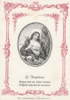 Heilige Magdalena-devotie Blanco-1850-1870 Geknipt - Images Religieuses
