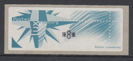 Luxemburg 1997 Monétel-ATM Windrose, Mi.-Nr. 4 ** - Vignette