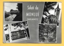 Monlué (MI) - Non Viaggiata - Autres Villes