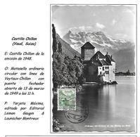 Suiza, 1949 - Cartas Máxima