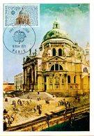 Carte 1er Jour : Europa 1971 Timbre à Date Paris - 1971
