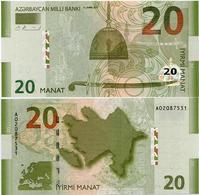 AZERBAIJAN       20 Manat       P-28       2005      UNC - Azerbaïjan