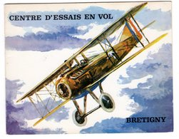 Carte Vœux Centre Essais En Vol Aéronautique Direction Générale Armement Aviation Avion Bretigny Sur Orge 91 Essonne - Bretigny Sur Orge
