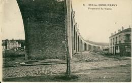 Issy-les-Moulineaux  Perspective Du Viaduc  Cpa - Issy Les Moulineaux