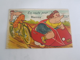 Carte Systeme - En Route Pour Biarritz - Edition Gaby - Biarritz
