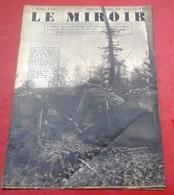 WW2 Le Miroir N°16 17 Décembre 1939 Prisonniers De Guerre Allemand Front Lorraine Moselle Combats Sarreguemines - Francés
