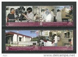 MEXIQUE. École Nationale De Médecine, Services D'ophtalmologie & D'optométrie. 4 T-p Neufs ** - Medicina