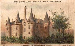 Chromo Chocolat Guerin Boutron Chateau De Bonnetable - Guérin-Boutron