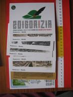 CA.16 ITALIA CARTOLINA SERIE 8 CARD - 2016 GORIZIA ADUNATA NAZIONALE ALPINI RADUNO ALPINO SERIE 8 PZ. CON CUSTODIA - Reggimenti