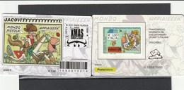 Tessere Filateliche - Torino 2017 -  4^ Edizione XMAS - Comics E Games - - 6. 1946-.. Repubblica
