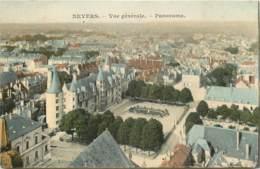 NEVERS VUE GENERALE PANORAMA - Nevers
