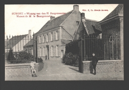 Burcht / Burght - Woning Van Den H. Burgemeester - Edit. F. De Blende, Antwerpen, Geanimeerd - Zwijndrecht