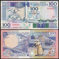 BILLET SOMALIE  100 SHILING - Somalie