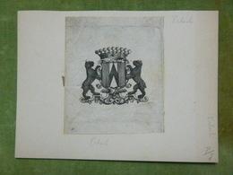 Ex-libris Héraldique XVIIIème - ERLACH - Ex Libris