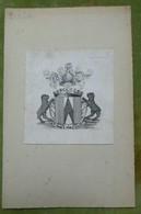 Ex-libris Héraldique XIXème - ERLACH - Ex Libris