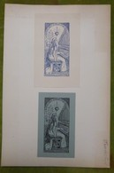 2 Ex-libris Illustrés Début XXème - EUGEN FAESCH - Ex Libris
