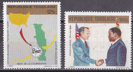 Kc_ Togo - Mi.Nr. 2178 - 2179 + Block 357 - 358 - Postfrisch MNH - Togo (1960-...)