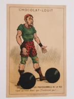 Chocolat Louit - Haltérophilie - Weightlifting - Louit